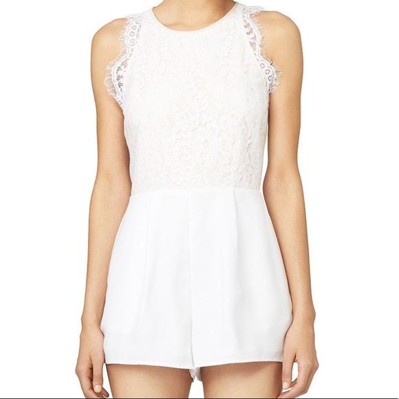 f5b29062aab2 KEEPSAKE the Label Dresses   Skirts - Keepsake White Lily Romper